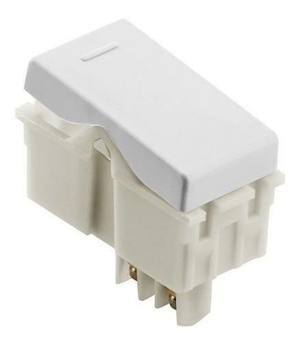 Modulo Interruptor Simples Branco - Tramontina Liz Original