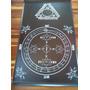 Goétia Luciferiana Tapete Círculo Triângulo De Manifestação