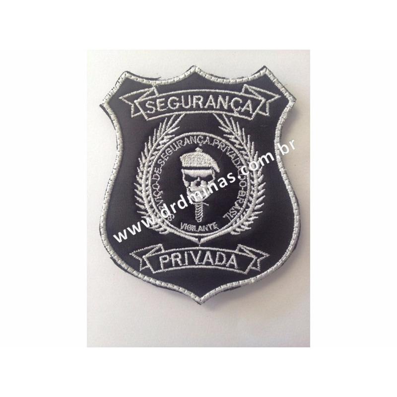 Distintivo Bordado Segurança Privada - III