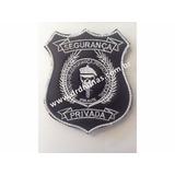Patch / Distintivo Bordado Segurança Privada - III