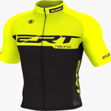 Camisa Ciclismo Mtb Ert Elite Racing Yellow