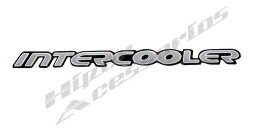Emblema Adesivo Intercooler S10 Blazer Prata Resinado 2001/ Original
