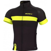 Camisa Ciclismo Mtb Speed Ert Nova Tour Strip Black