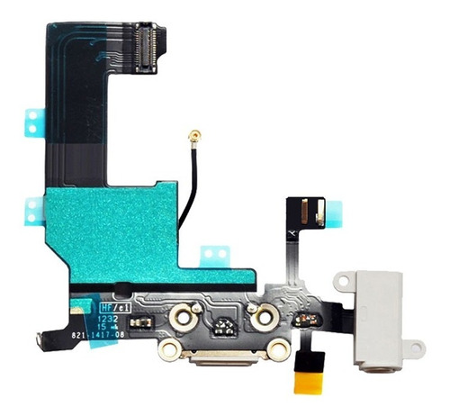 Cabo Flex Conector Carga Dock Audio Microfone Jack iPhone 5 Original