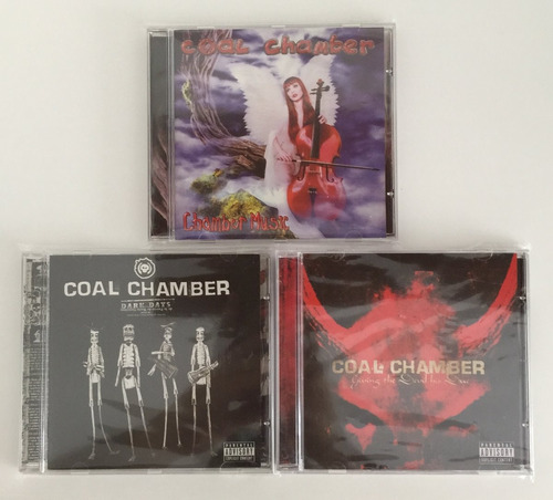 3 Cds Coal Chamber Chamber Music Dark Days Giving The Devil Original