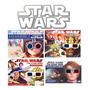 Star Wars Livros Em 3d Com Óculos Coleção De Livros