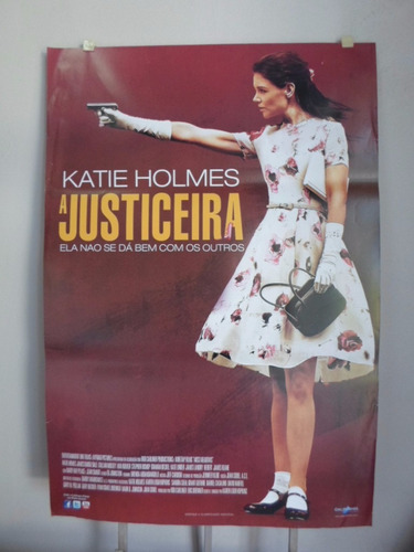 Poster A Justiceira -  64 X 94 Original