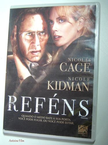 Refens Dvd  Novo Nicolas Cage/ Nicole Kidman Dublado Original