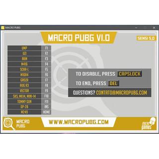 Macro Pubg Battlegrounds Script Recoil - Mezaico