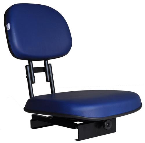 Cadeira Para Pesca Barco Alumínio Giratoria Dobrável