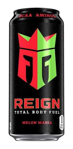 Energético Reign Body Fuel Zero Açúcar  Melon Mania 473ml Original
