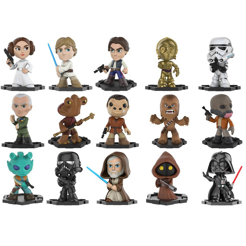 Star Wars Mystery Minis Series 1 - Funko - 1 Unidade