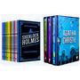Box Livro Sherlock Holmes 10 Livros Box 8 Agatha 3 Livros