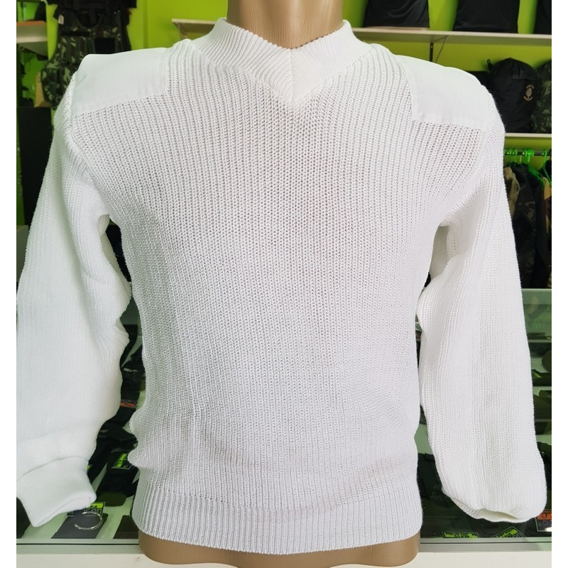 Sueter De Lã Branco Padrao EB - SAÚDE