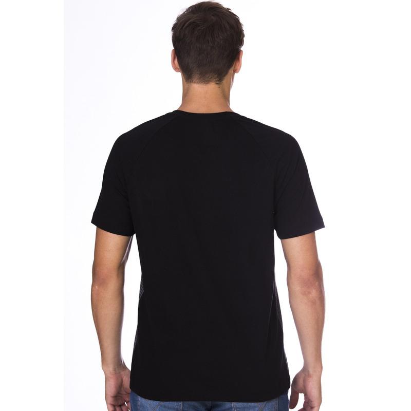 Camiseta Long Island Raglan Preta