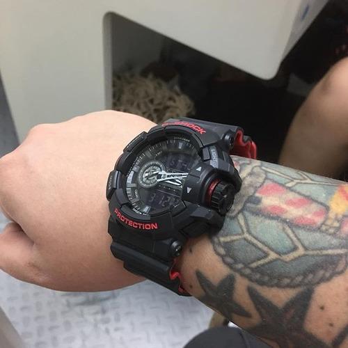 f618b430d10 ... comprar Relógio Casio G-shock Ga-400hr-1adr Ga 400 Lançamento ...