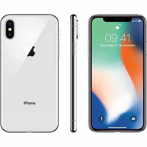 Iphone X De 64 Giga (anatel) Novo 1 Ano De Garantia Apple