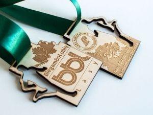 30 Medalhas Personalizadas Com Informações Gravadas 1,50