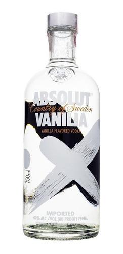 Kit 4 Vodkas Absolut 1 Litro Sabores Original