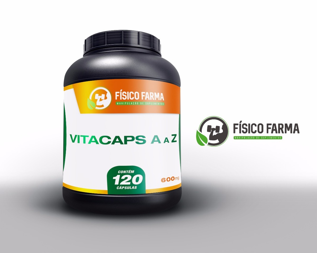 Complexo Vitamínico  A a Z - Vitacaps | 120 c&aacu...