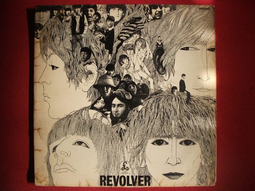 Lp The Beatles Revolver Mono 1966 Inglês Uk Dr. Robert Original