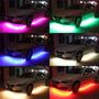 Led Neon Rgb Interno Acessórios Tuning Luz Carro 8 Cores 12v