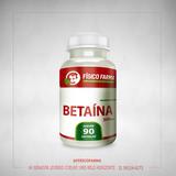 Betaína  300Mg - 90 Cápsulas