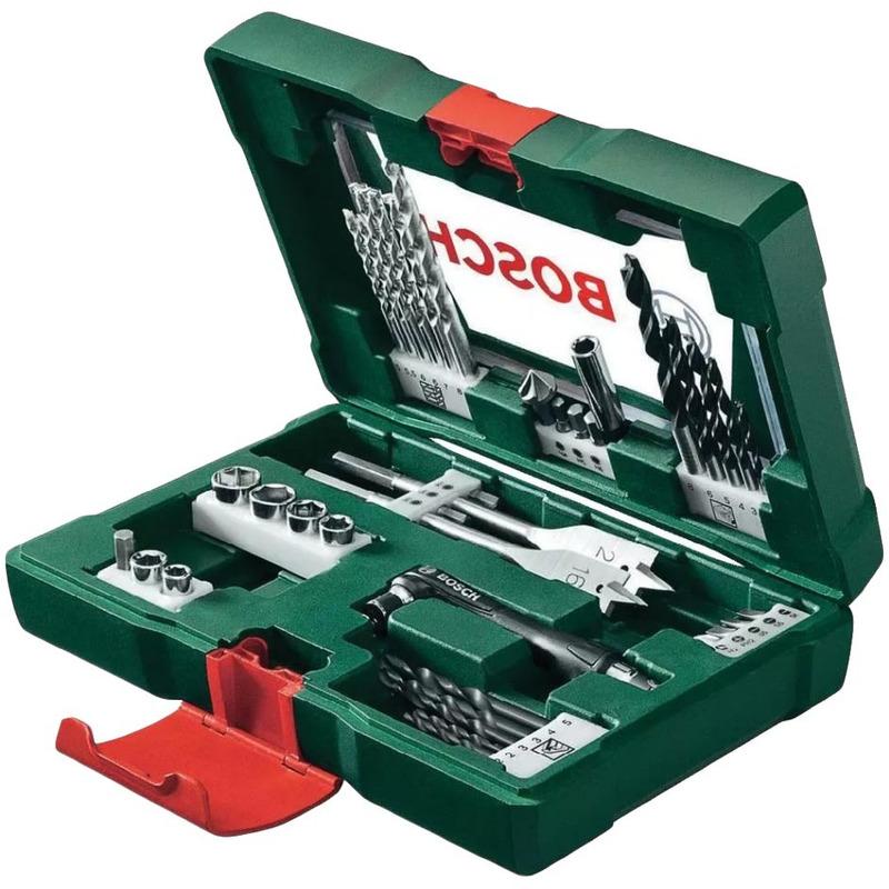 Jogo de Brocas, Soquetes e Bits V-Line 41 peças -  Bosch