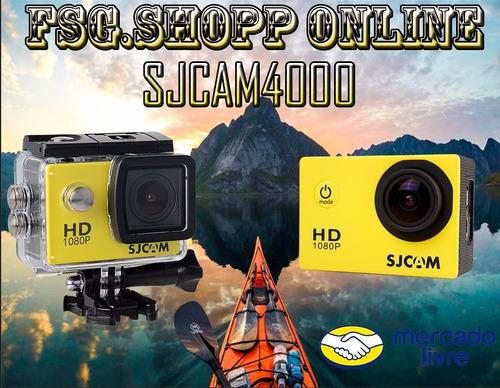 Câmera Sjcam4000 Amarela Lacrada Na Caixa