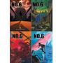 Coleção No.6, Vol 1 A 4, De Atsuko Asano E Hinoki Ino