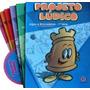 Coleção Projeto Lúdico 1° Serie 6 Livros Alfabeto Móvel