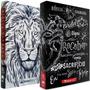 Box Bíblia Jesus Copy Lettering Bíblia Leão Branco Naa