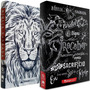 Combo Bíblia Lettering Bíblia Leão Branco Naa Jesus Copy