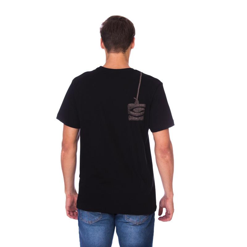 Camiseta Long Island Astronauta Preta