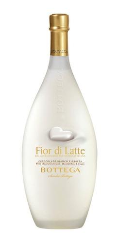 Licor Bottega Fior Di Latte 500ml  Creme De Chocolate Branco Original