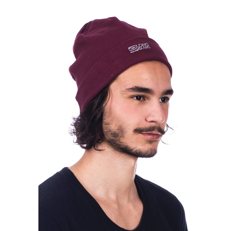 Gorro Long Island Basic Bordô