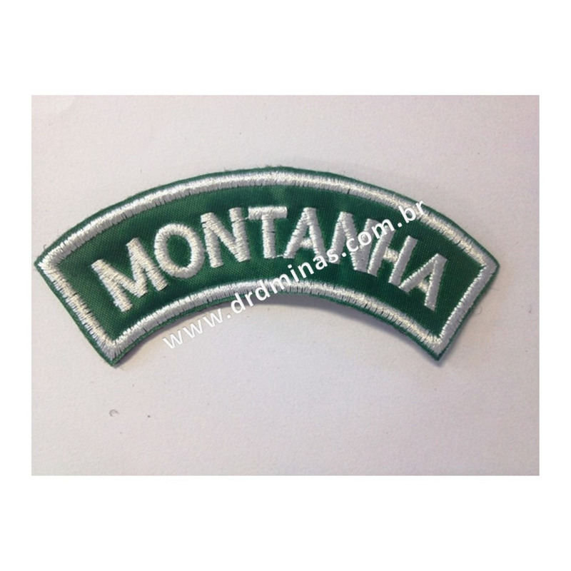 Patch / Distintivo Bordado Montanha - U
