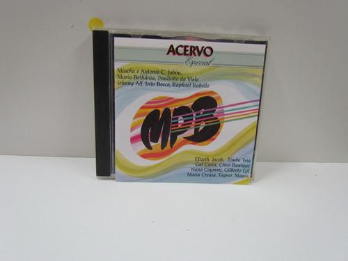 Cd Acervo Especial - Mpb - By Trekus Vintage Original