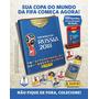 Kit Cartela Figurinhas Copa Do Mundo Fifa 2018 24 Envelo