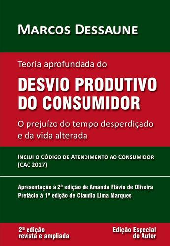Livro: Teoria Desvio Produtivo Consumidor - Marcos Dessaune Original