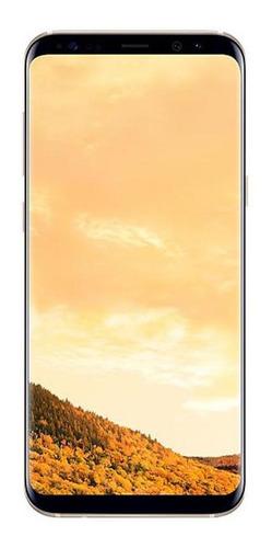 Galaxy S8 Plus 64gb Dourado Samsung Excelente Usado Seminovo Original
