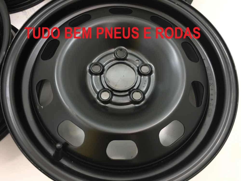 Roda Ferro Vw Space Cross Fox Prime Polo Aro 15 5x100