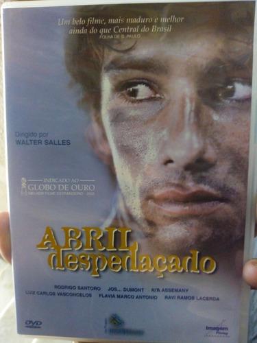 Dvd Abril Despedaçado ( ) Original