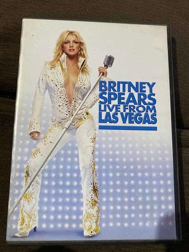 Dvd Britney Spears - Live From Las Vegas Original