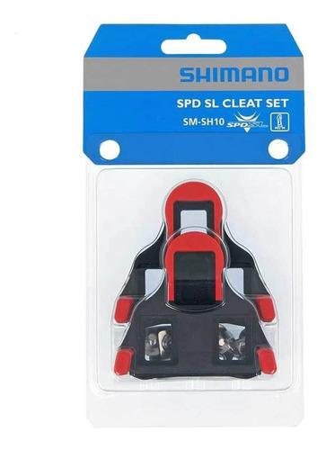 Taco Para Sapatilha Shimano Speed Sm-sh10 Leve  Fixo Original