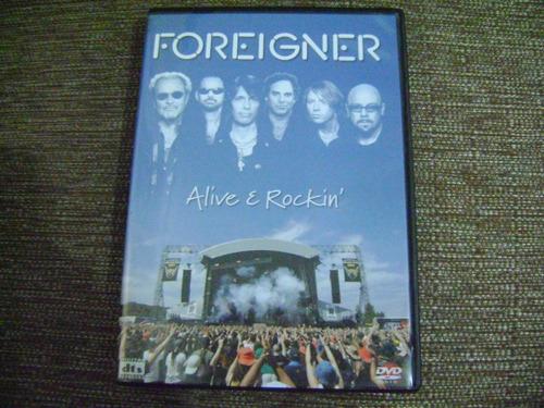 Dvd  Foreigner Alive E Rockin  Double Vision Original