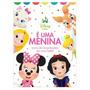 Livro Album De Recordações Bebê É Uma Menina Disney