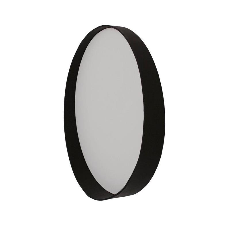 Espelho Dani Oruy em Couro Legítimo 75cm