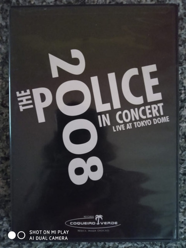 Dvd The Police 2008 In Concert Live At Tokyo Dome Original