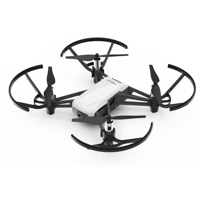 Drone Ryze/Dji Tello + 2 Bateria Extra + Carregador Triplo - Branco